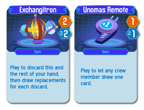 New Space Food Truck Items