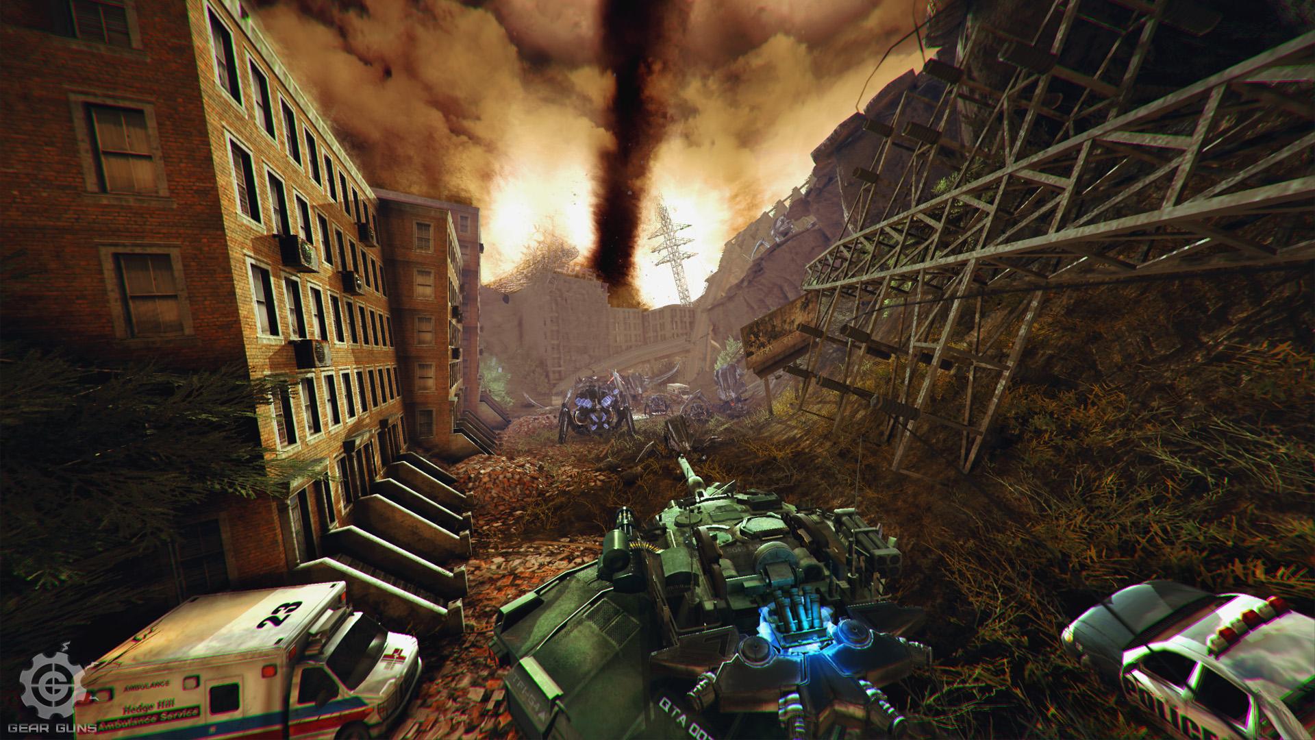 GEAR GUNS Tank offensive» Demo version news - Indie DB