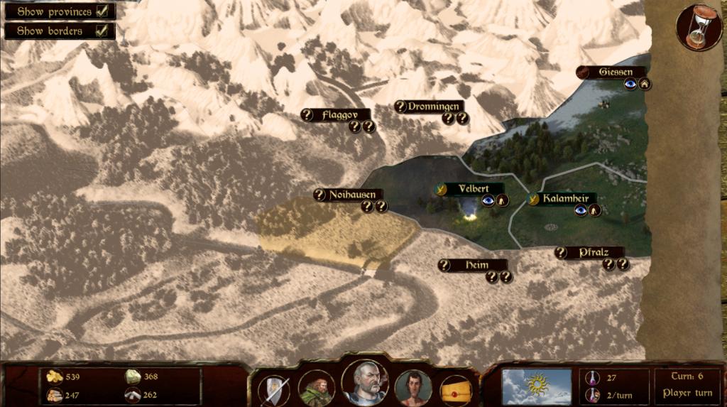 Main Map WIP