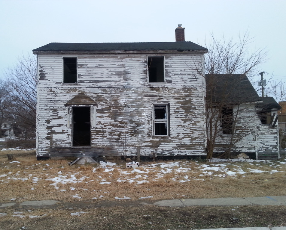 Using abandoned homes for source material news cull for New source homes