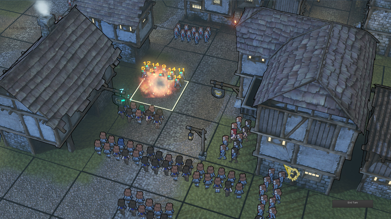 Very early combat test featuring bad lighting and mostly identical soldiers