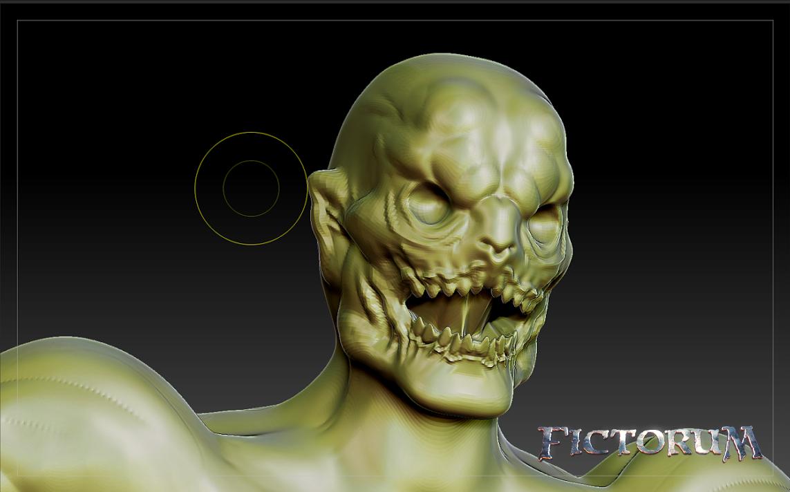 Fictorum Corrupted Warrior Face