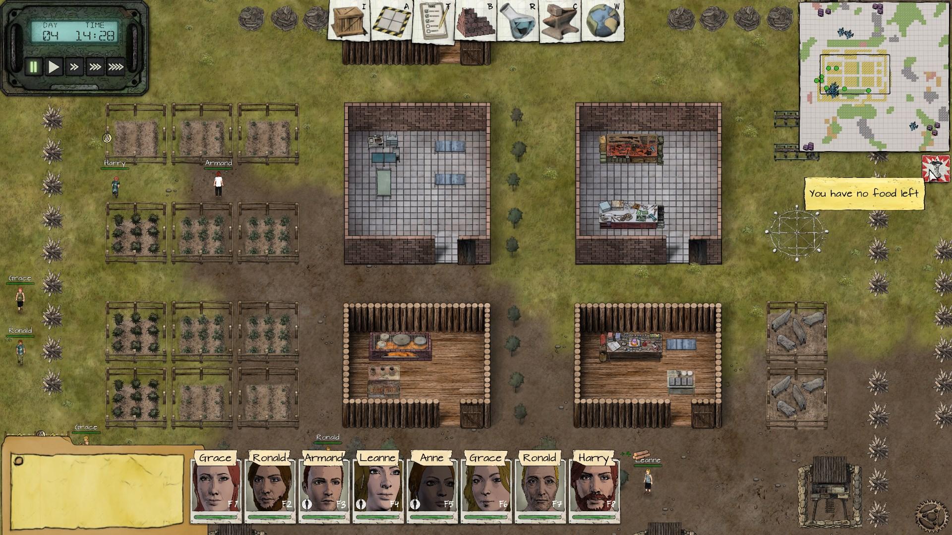 Survival Simulation Team Building