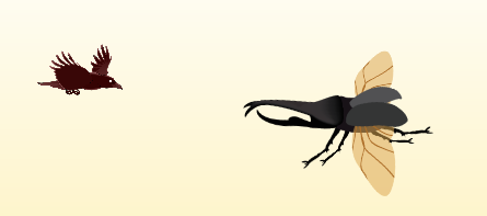 This beetle is a slow mover but has a powerful dash attack. Make sure to dodge!