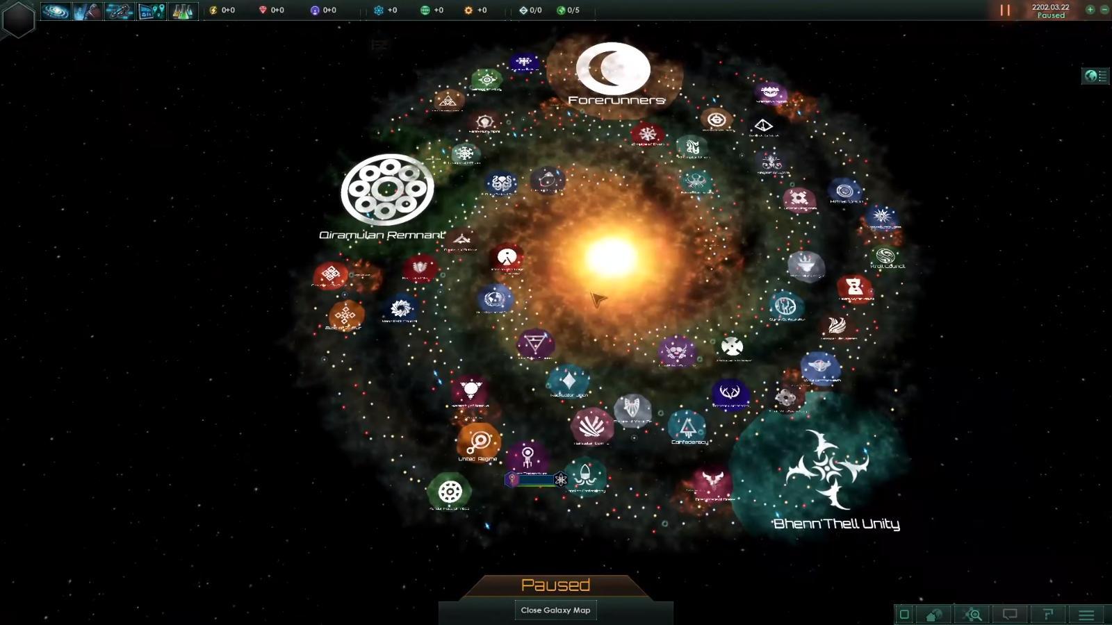 Dev Diary 3 - Galaxy Generation feature - Stellaris - Indie DB