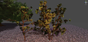 Small Trees in SpeedTree
