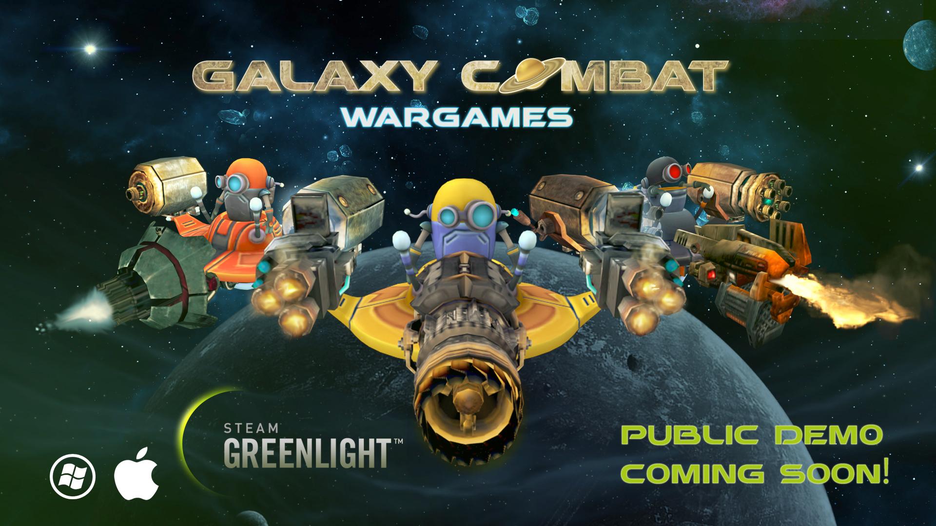 Indie Space Shooter Galaxy Combat Wargames Public Demo Coming Soon