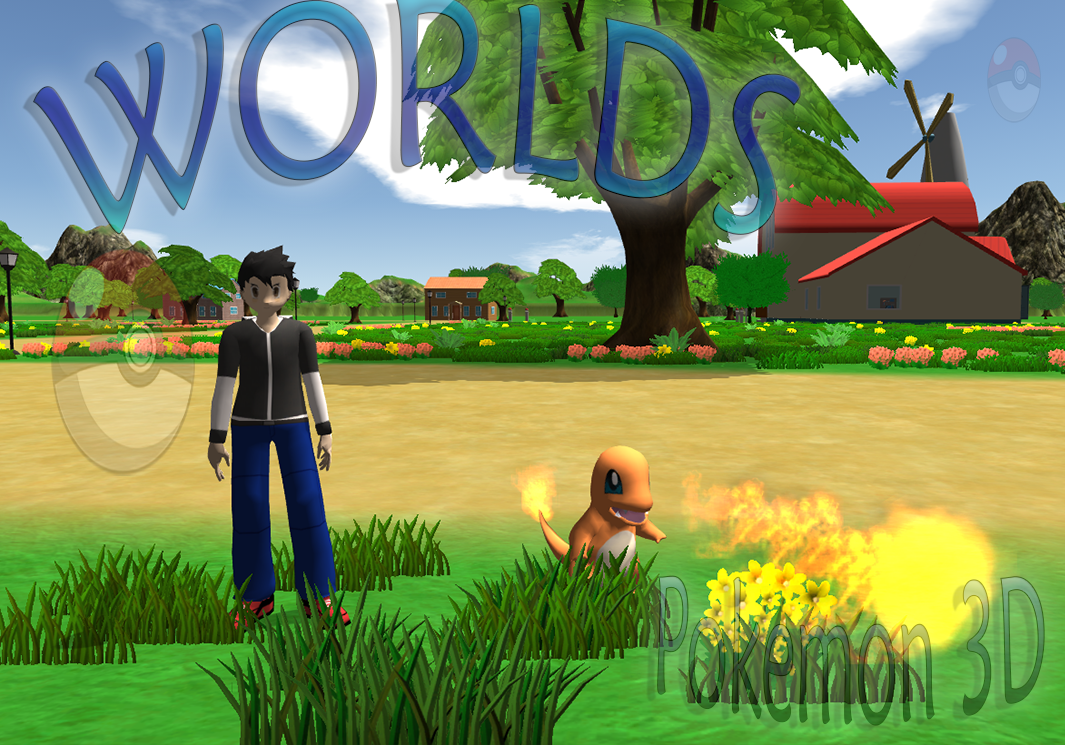 Worlds pokemon 3d alpha news indie db for Online 3d