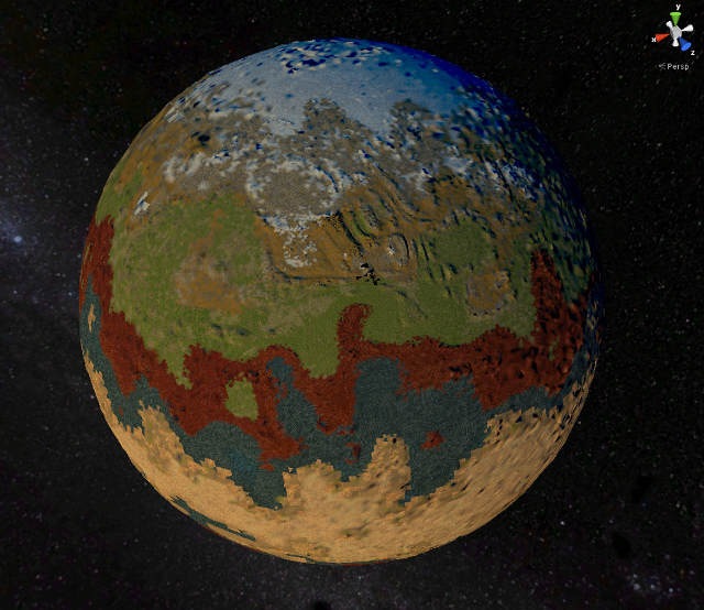 Planet Generated from BiL