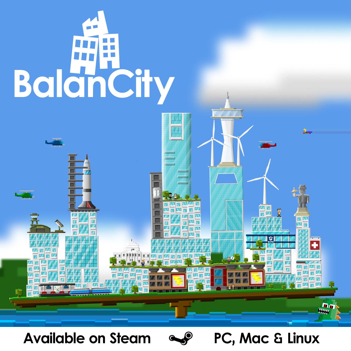 BalanCity Released On Steam! News