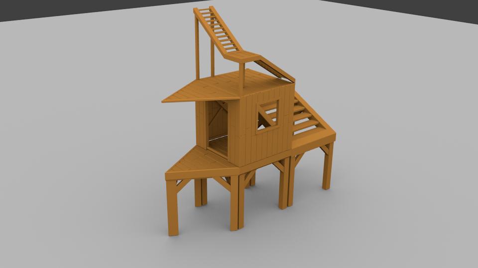 wood tier