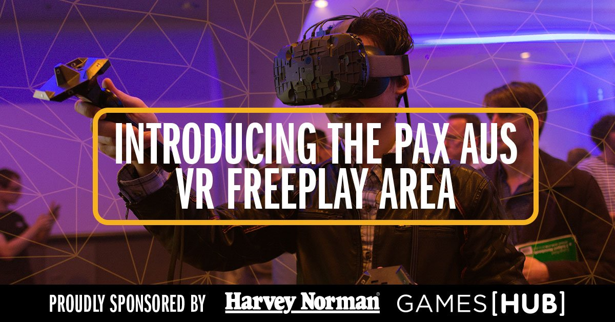 3775c2ba2be PAX Aus 2016 To Feature Virtual Reality Freeplay Area news - Virtuix ...