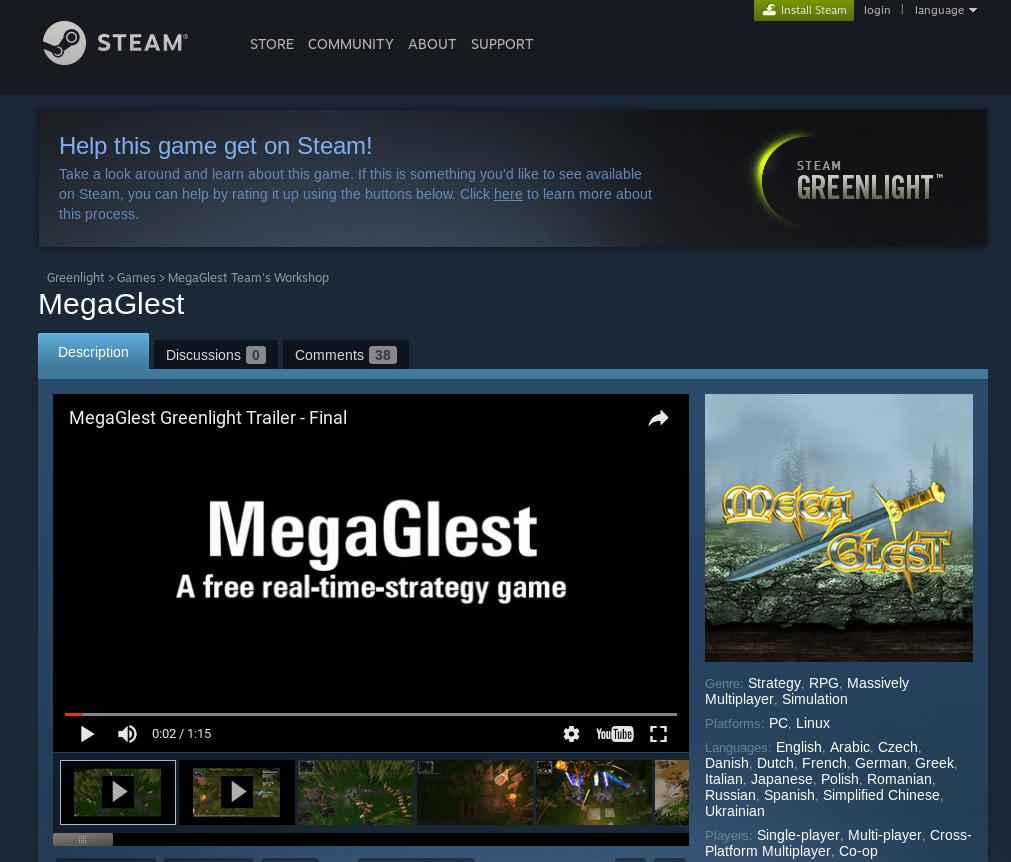 MegaGlest Windows, Mac, Linux Game