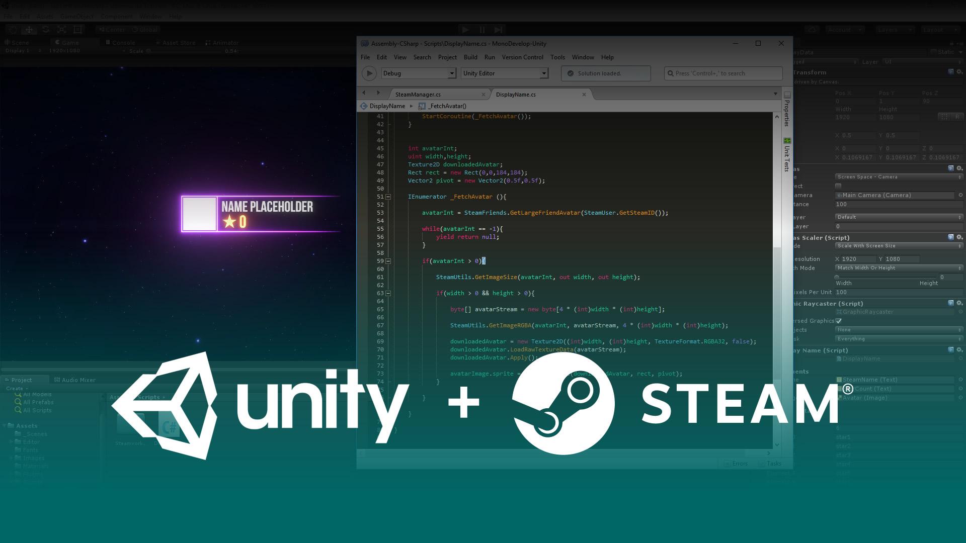 developers integration unity unity get started