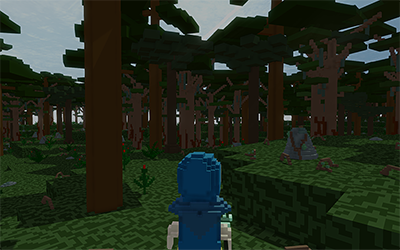 1x1m² voxel size