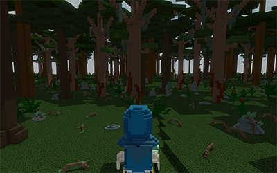 0.25x0.25m² voxel size