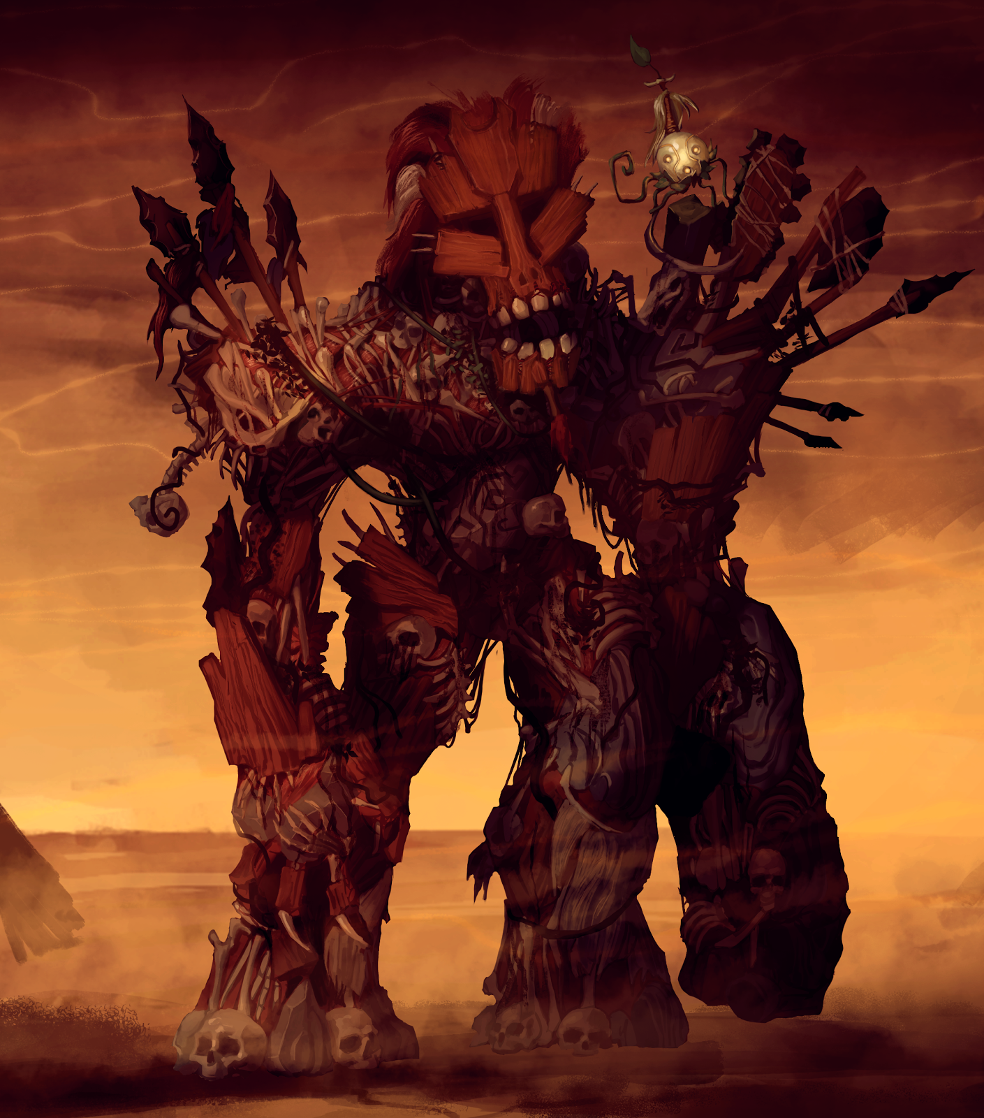 Tix & Juggernaut undungeon