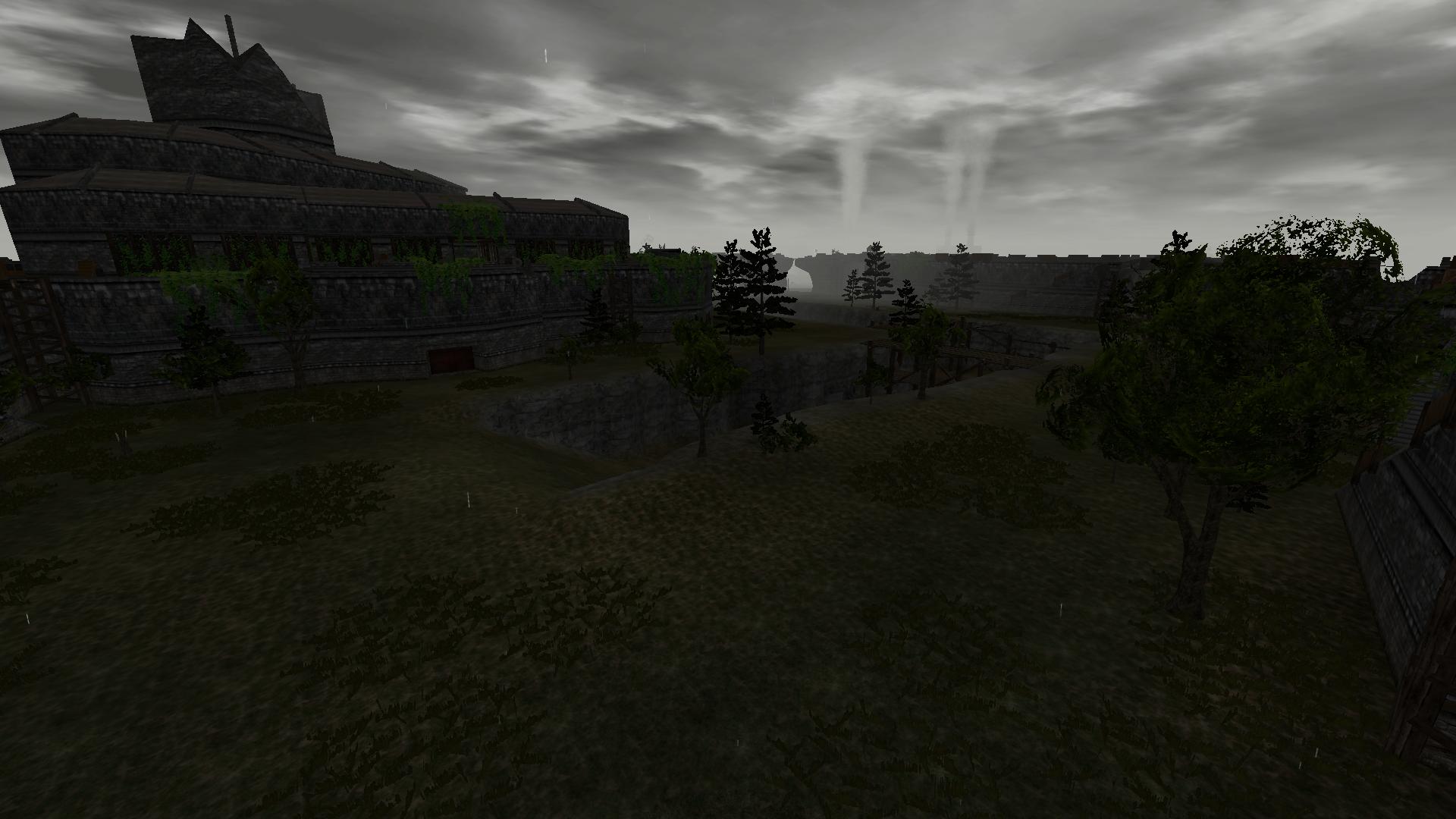 Siege Courtyard