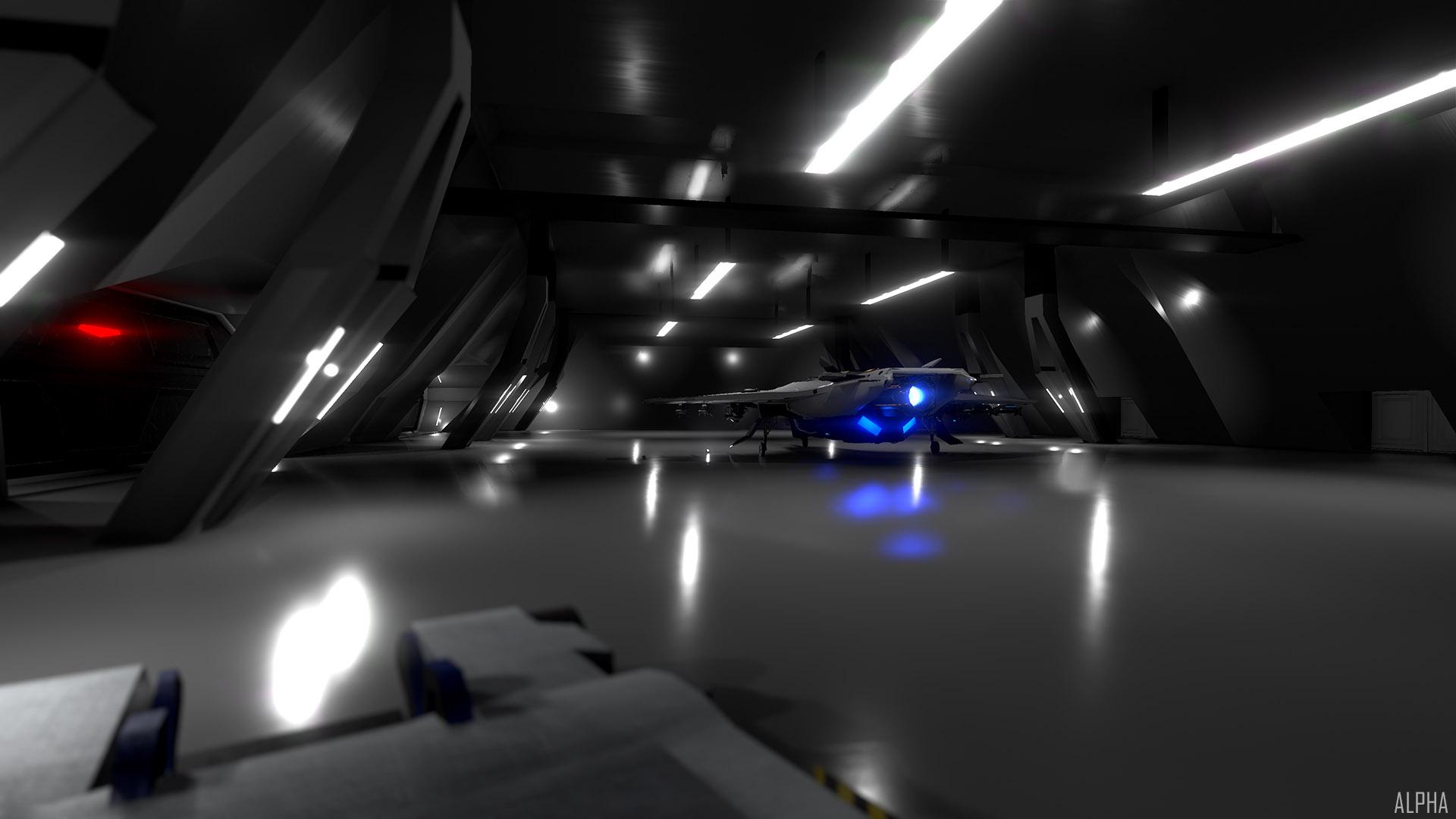 New Launch Hangar WIP