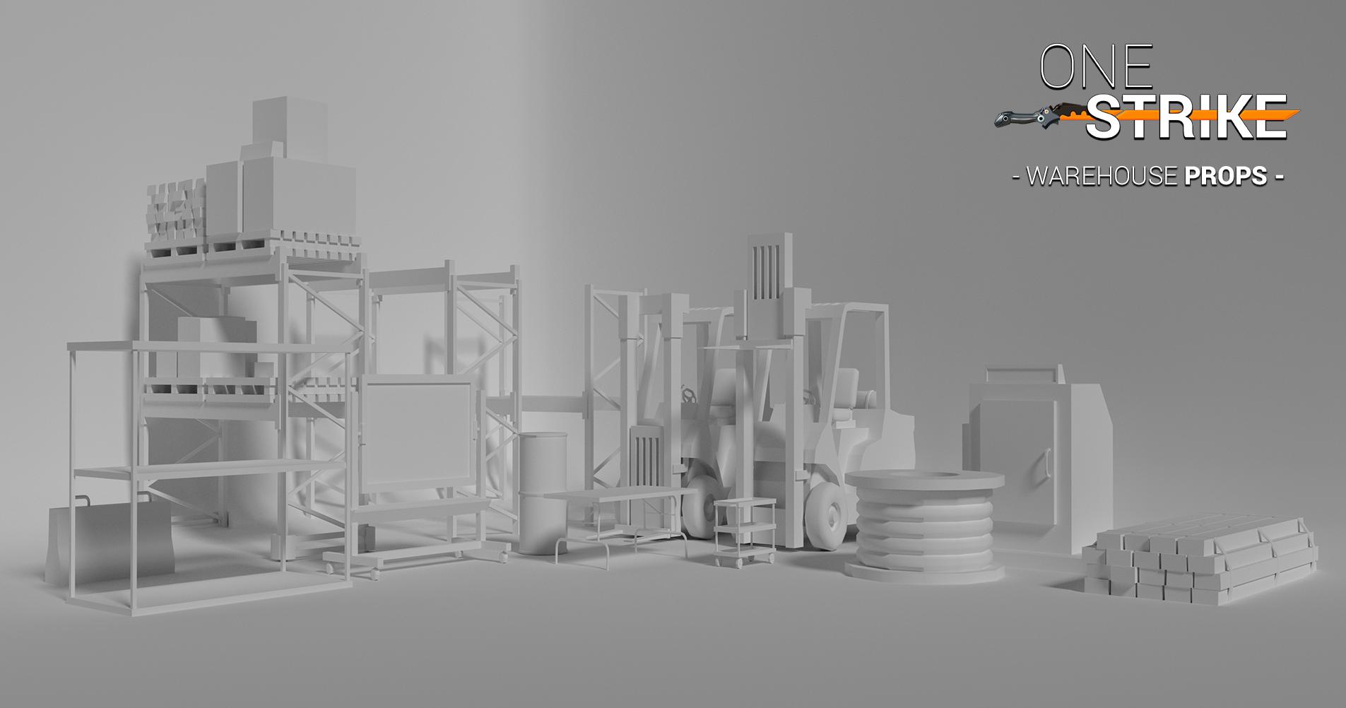 Warehouse Props - No Texture