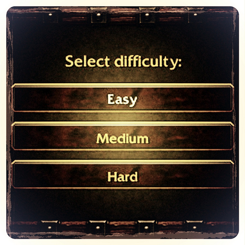 Level difficulty sample