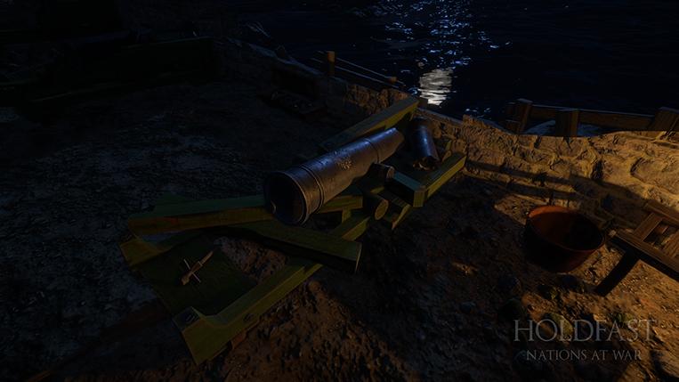 Holdfast NaW - Fort Imperial Destroyed Coastal Gun