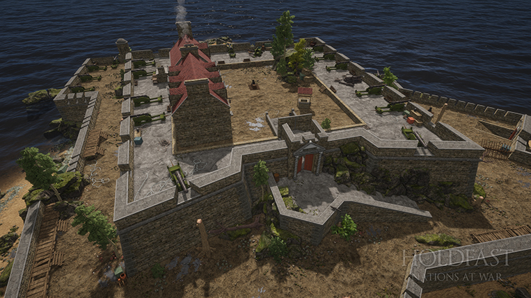 Holdfast NaW - Fort Imperial Top View (Day)