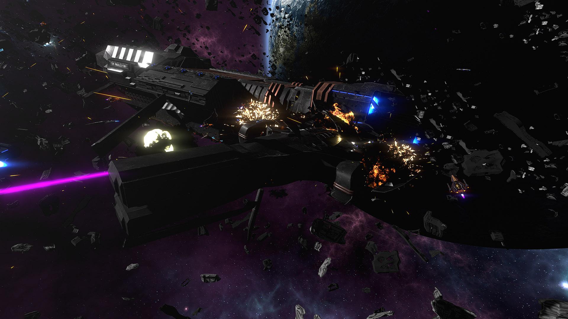 New Large Ship Destruction