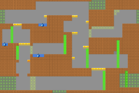 Building the Level Design of a procedurally generated Metroidvania