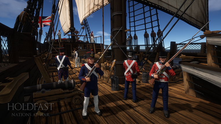 Holdfast NaW - Sailors & Marines. Crew your ship