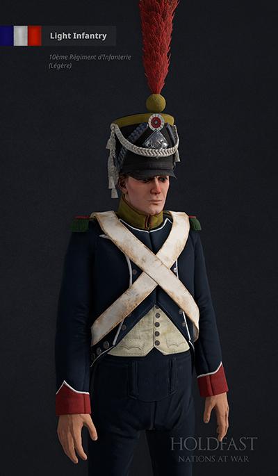 Holdfast NaW - French Light Infantry (10ème Régiment d'Infanterie - Légère)