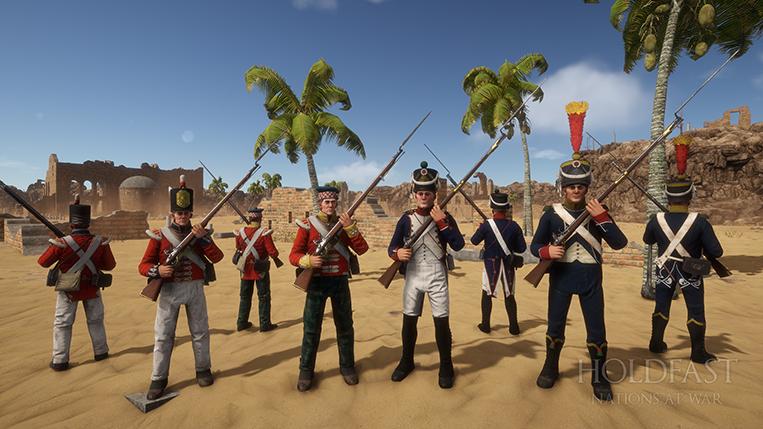 Holdfast NaW - Line & Light Infantry