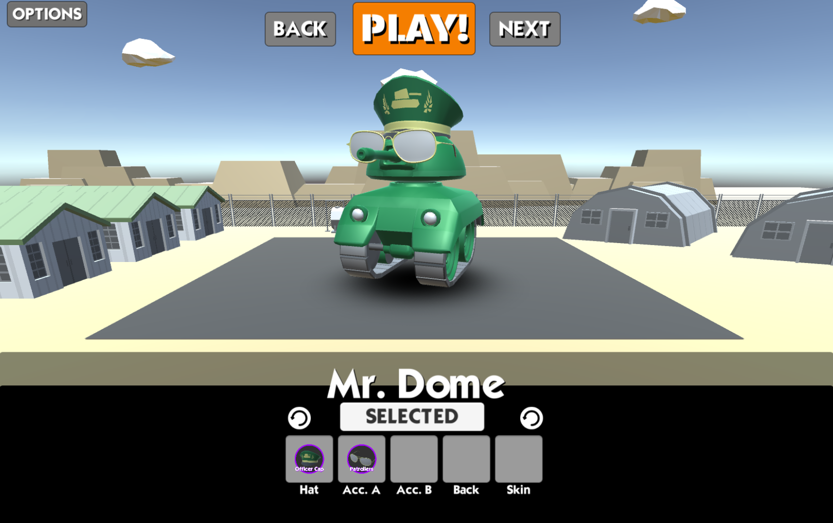 Mr. Dome, Customized