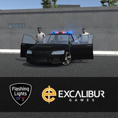 Flashing Lights & Excalibur Games cooperation
