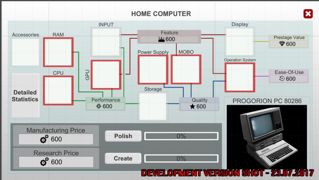 Computer Tycoon HC Architecture