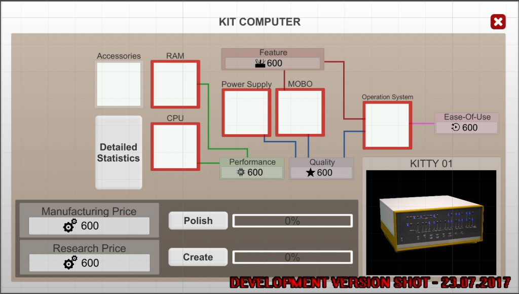 Computer Tycoon architecture