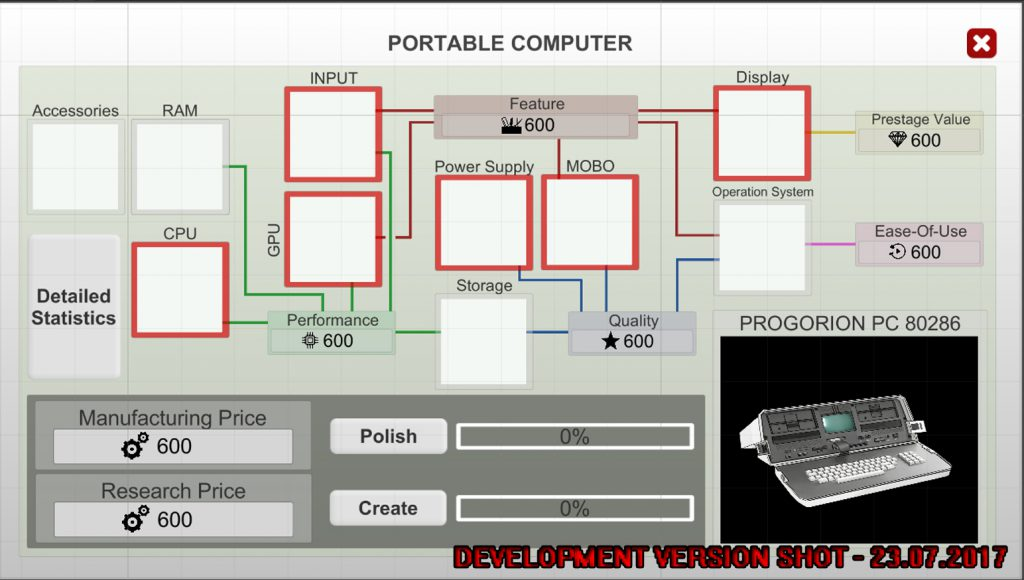 Computer Tycoon Portable Computer Architecture