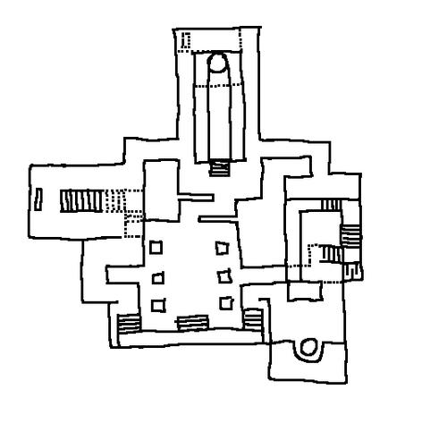 Island levels layout