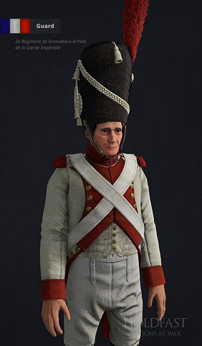 Holdfast NaW - French Guard (3e Garde Impériale)