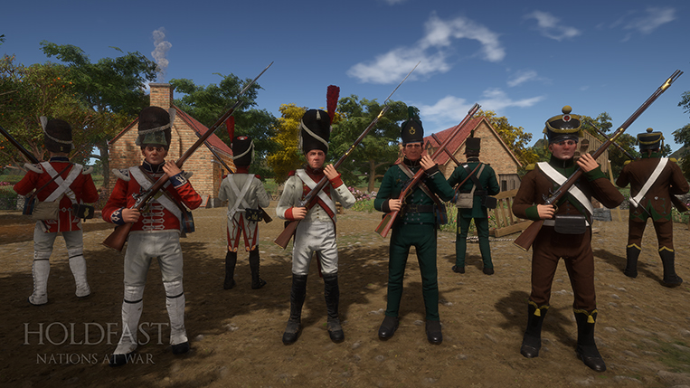 Holdfast NaW - Guards & Rifleman. The chosen elite