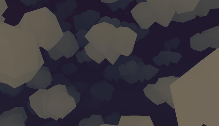 clouds lowpoly floatlands