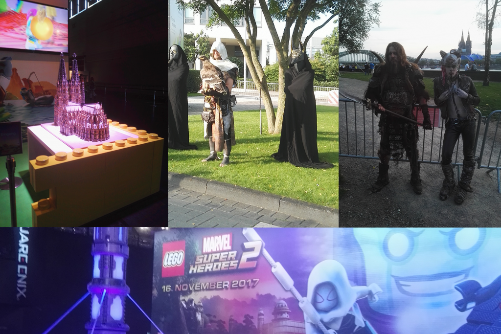 Some of the pictures taken in Gamescom!