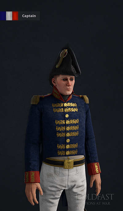 Holdfast NaW - French Captain