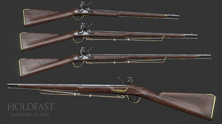 Holdfast NaW - British Firearms [WIP]