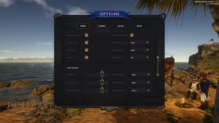 Holdfast NaW - Graphical Options 2