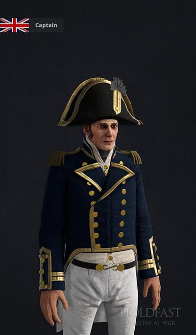 Holdfast NaW - British Captain