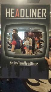 Headliner at Seattle Indies Expos