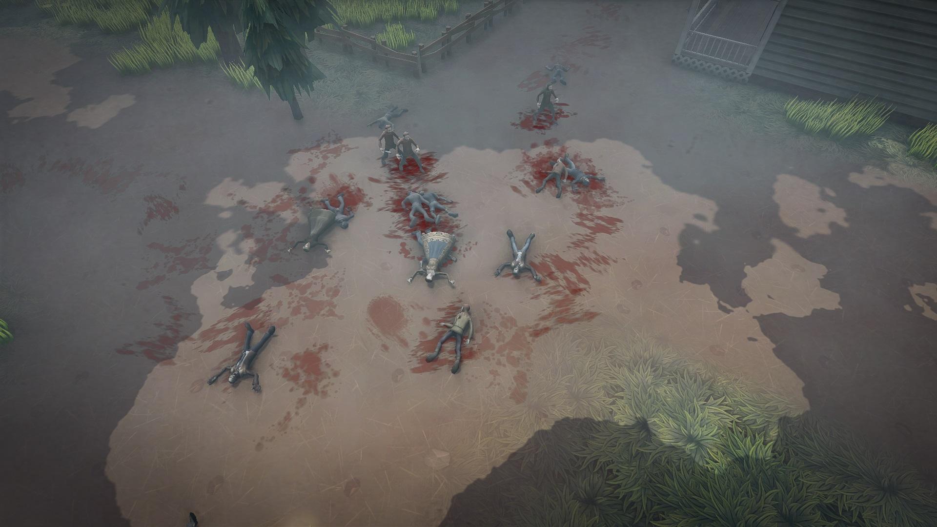 Old Battle scene