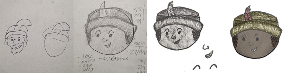 Different stages of Sid