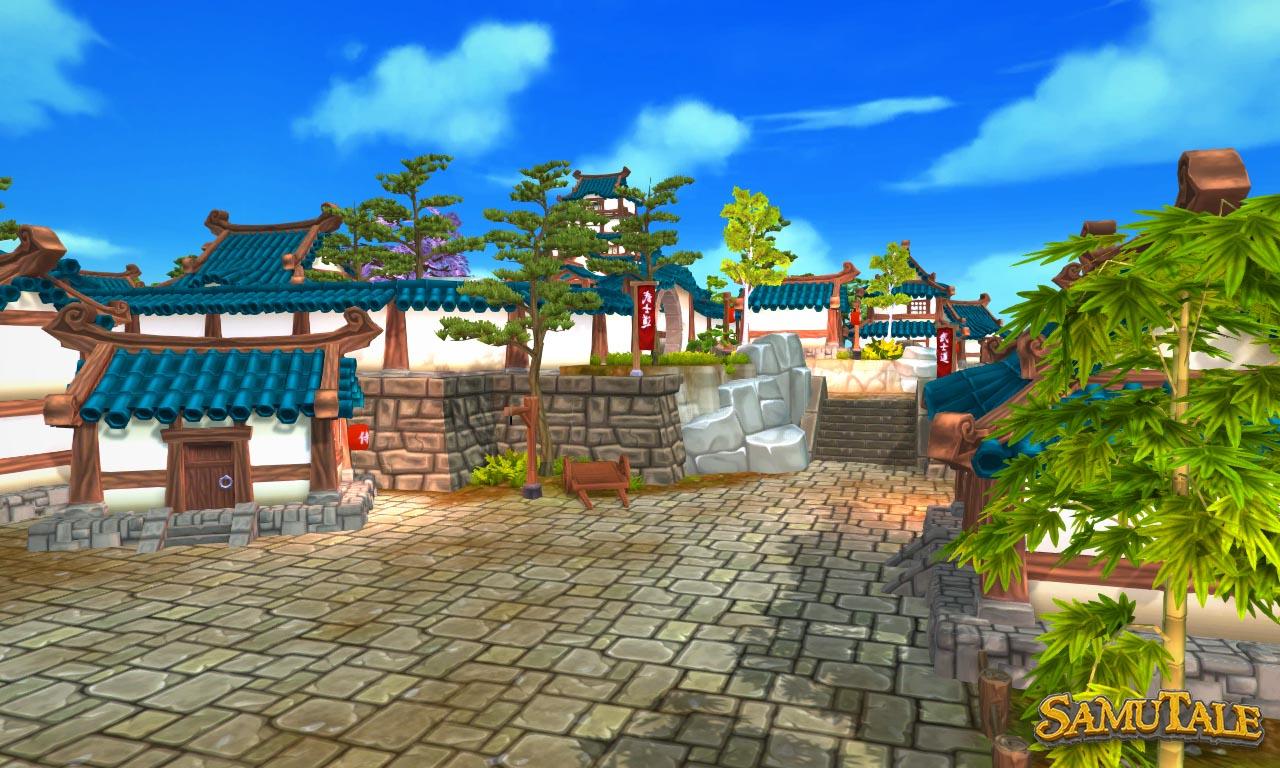 New Okura Village streets